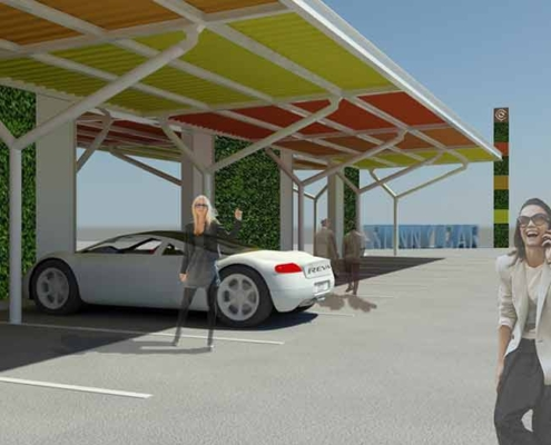 Raffaella Giamportone Architetto | Sunny car in a sunny region