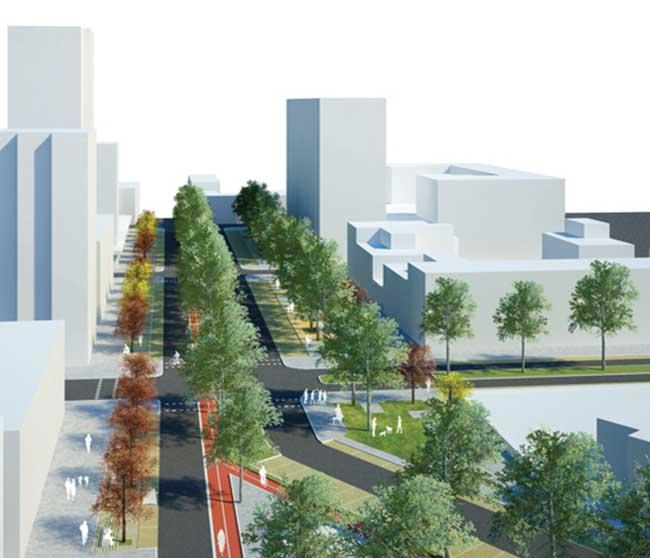 Raffaella Giamportone Architetto | Riqualificazione ed arredo urbano di via Don Morosini