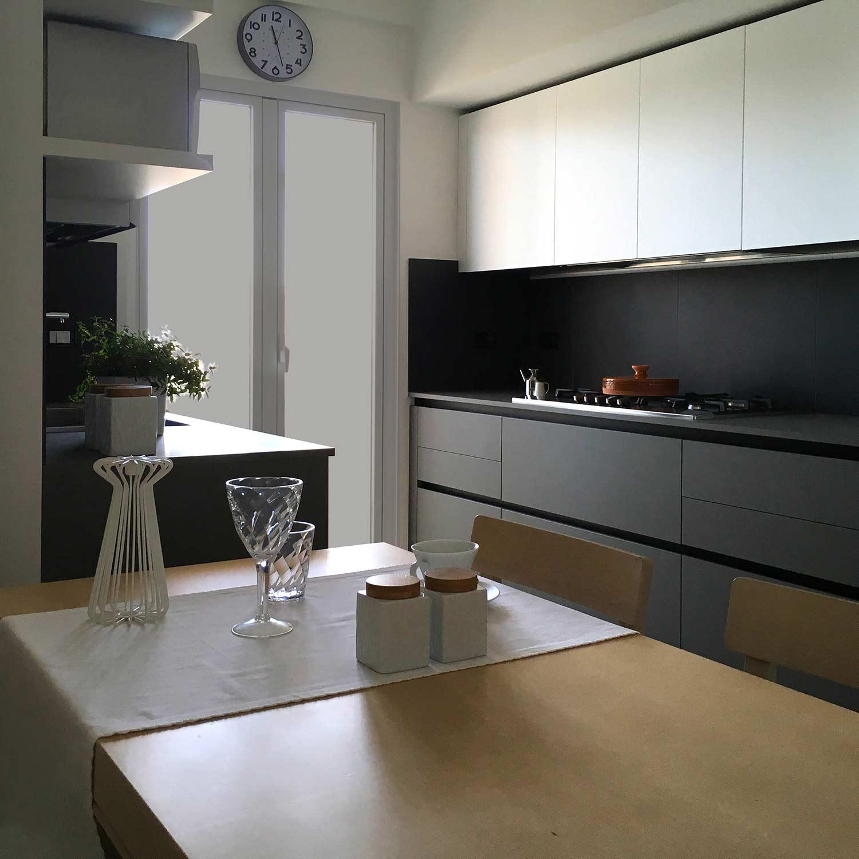 Raffaella Giamportone Architetto | Appartamento via L. da Vinci